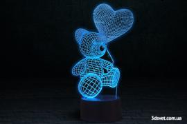 3D світильники - новинка 2017 року
