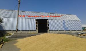 Ангари для зерна, виготовлення та будівництво зерносховища