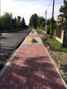 Asphalting of roads. Asphalt laying Asphalt and repair