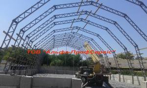 Будівництво ангарів та складів, виготовлення металоконструкцій