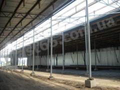 Будівництво ангарів у Вінниці, будівництво зерносховищ