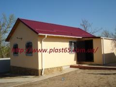 Будівництво дачних будиночків, дачних побутівок під ключ