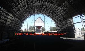 Будівництво Каркасних Ангарів, Металеві конструкції будь якої ск