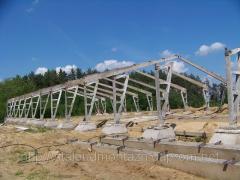 Будівництво корівників, комплексів. Монтаж з/б конструкцій