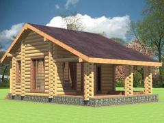 Будуємо дерев'яні будинки із карпатського зрубу