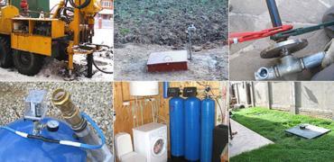 Буріння, облаштування свердловини на воду у Львівській обл