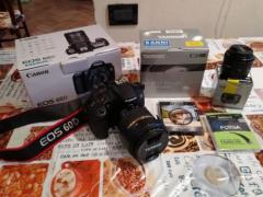 Canon ЕОС 60Д 18.0 MP Цифрова дзеркальна камера - чорний (комплект