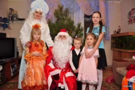 Дід Мороз і Снігуронька виклик на будинок у Харкові