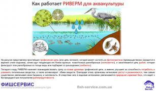 Добриво для ставків РІВЕРМ (аквакультура)