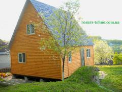 Домики дачные из дерева на заказ