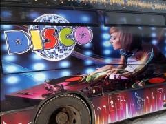 Диско Бас - «АТАС» В Одесі програма «Танцюючі екскурсії», ноч