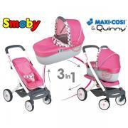 Дитяча коляска для ляльок 3в1 SmobyMaxi Cosi Quinny