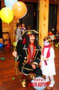 Дитяче свято Аніматор на день народження пірат Аквагрим кулька