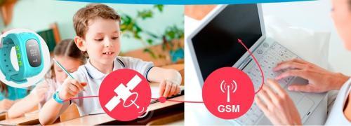 Дитячі годинники телефон з gps - від офіційного представника