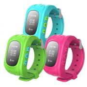 Дитячі розумні годинник-телефон Q50 c GPS Baby Smart Watch