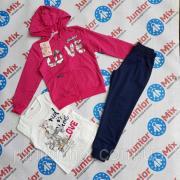 Дитячі спортивні костюми для дівчаток трійка F&D