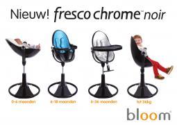 Дитячий стільчик для годування Bloom Fresco Chrome з вкладишами