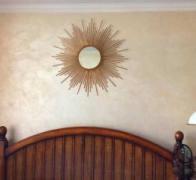 Дзеркало-сонце, ручна робота