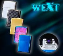 Електроімпульсна запальничка WEXT (9 кольорів)