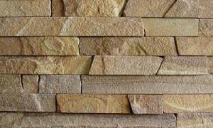 Фасадно-стінова нарізка-локшина з пісковика