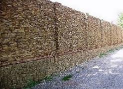 Фасадно-стінова нарізка-торець з пісковика