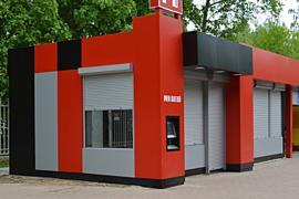 Фасади з алюмінієвих композитних матеріалів. Вентильовані фасу
