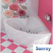 Інтернет-магазин Sanray, великий вибір ванн, душових кабін