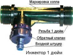 Інжектори (струменеві насоси)