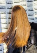 Кератинове випрямлення волосся в салоні Иноар