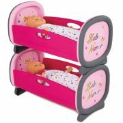 Колиска для близнюків Smoby Baby Nurse 220314
