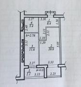 Кращий будинок на Перемогу, 1-но кім кв 54 кв. м будинок зданий