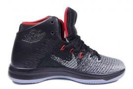 Кросівки чоловічі Nike Air Jordan XXXL чорні з сірим