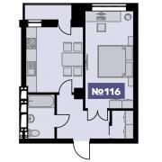 Квартира в Премиум ЖК «Bauhaus»