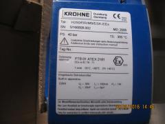 Лічильник - витратомір змінної зони Krohne (H250/RR/M9)