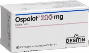 Ліки від епілепсії Осполот 200мг 50таб. (Ospolot)