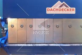 Листогиб для гнуття сегментних виробів Dachdecker SEG 910 (Польща