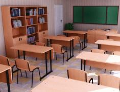 Меблі для навчальних закладів на замовлення у Харкові та області