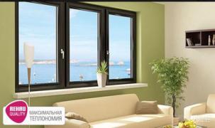 Металопластикові вікна та двері REHAU від виробника