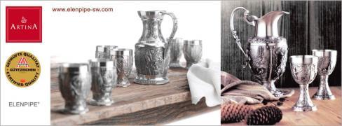 Міні-гуртки Артина олово для міцних напоїв