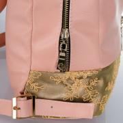 Міський стильний ,шкіряний рюкзак - для модних жіночих образів