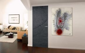 Міжкімнатні двері прихованого монтажу камінь