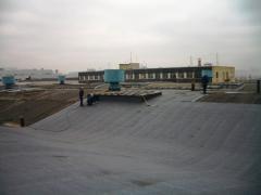 Монтаж і ремонт покрівлі єврорубероїдом в Миколаєві