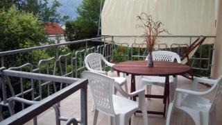 Montenegro in the summer. Djura Apartments near the sea