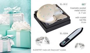 Набори дзеркальце EL-30 – 30.21 і пилка манікюрна