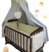 Найкращі постільні набори в ліжечко від виробника! Акція