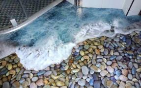 наливні 3D підлоги