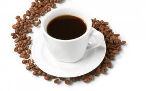 Натуральна кава в зернах і мелена, свіжої обжарювання