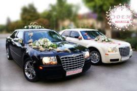 Оренда, прокат, замовлення автомобіля Chrysler 300C на Весілля