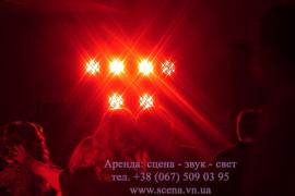 Оренда світлового обладнання: прожектора, рухомої голови