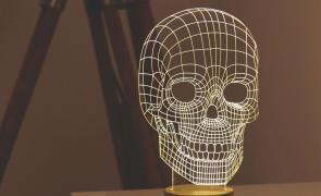 Оригінальний подарунок. 3D Led світильник. Яскравий і економічний